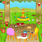 Free online flash games - Hidden Objects-Garden game - WowEscape