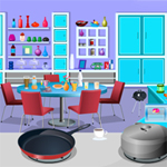 Free online flash games - Hidden Objects-Kitchen game - WowEscape
