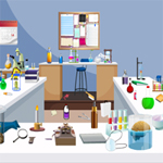 Free online flash games - Hidden Objects-Science Lab game - WowEscape