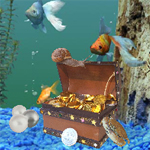 Free online flash games - Hidden Objects-Under Water 2 game - WowEscape