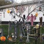 Free online flash games - Halloween Celebration Objects game - WowEscape