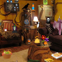 Free online flash games - Horror Room Objects game - WowEscape