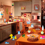 Free online flash games - Kitchen Room game - WowEscape