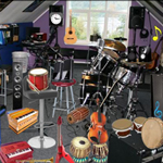 Free online flash games - Music Room Objects-2 game - WowEscape