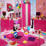 Free online flash games - Pink Bedroom game - WowEscape