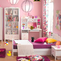 Free online flash games - Pink Room Hidden Objects game - WowEscape