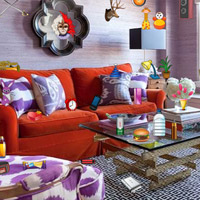 Free online flash games - Purple Room Objects game - WowEscape