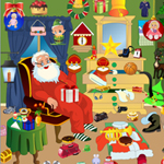 Free online flash games - Re Santa Messy Room game - WowEscape
