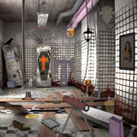 Free online flash games - Scary Room Hidden Objects game - WowEscape