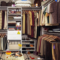 Free online flash games - Wardrobe Room Objects game - WowEscape