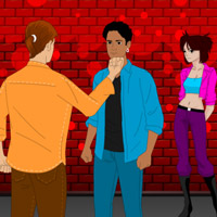 Free online flash games - Boys Fight for Girl game - WowEscape