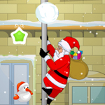 Free online flash games - Climbing Santa game - Escape