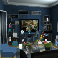 Free online flash games - Dark Living Objects game - Games2Rule