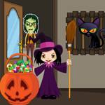 Free online flash games - Halloween Trick or Treat game - WowEscape