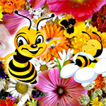 Free online flash games - Hidden Bee game - WowEscape