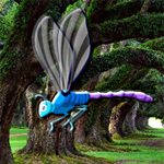 Free online flash games - Hidden Dragonfly game - WowEscape