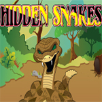 Free online flash games - Hidden Snakes game - WowEscape