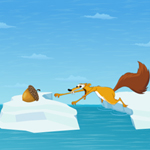 Free online flash games - Ice Age Scrat Acorns game - WowEscape