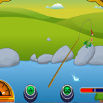 Free online flash games - Lake Fishing game - WowEscape
