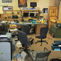 Free online flash games - Messy Office Room-2 game - WowEscape