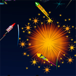 Free online flash games - New Year Fireworks game - WowEscape