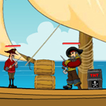 Free online flash games - Re Pirates Attack game - WowEscape