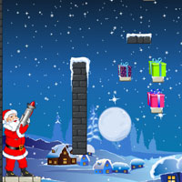 Free online flash games - Santa Rocket Shoot game - WowEscape