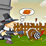 Free online flash games - Shoot the Turkey game - WowEscape