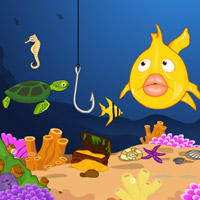 Free online flash games - Underwater Fishing game - WowEscape