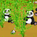 Free online flash games - Panda Wild Farm game - WowEscape