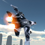 Free online flash games - Air War 3D City Warfare game - WowEscape