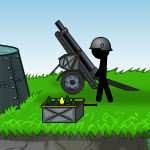 Free online flash games - Causality Saving Private Stickman game - WowEscape