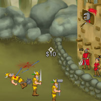 Free online flash games - Crossbow Defend game - WowEscape