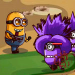 Free online flash games - Minions Fighting Back game - WowEscape
