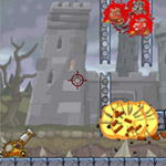 Free online flash games - Roly-Poly Cannon Bloody Monsters Pack 2 game - WowEscape