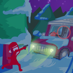 Free online flash games - Snow Terror game - WowEscape