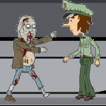 Free online flash games - Zombie Vs Police game - Games2Rule