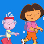 Free online flash games - Dora And Boots Sleepwalking Adventure game - WowEscape