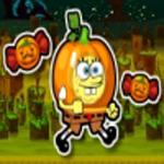 Free online flash games - Spongebob Squarepants Halloween Run game - WowEscape