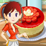 Free online flash games - Saras Cooking Class Berry Cheese Cake game - WowEscape
