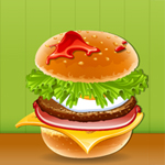 Free online flash games - Cheesy Burger game - WowEscape