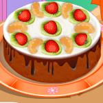 Free online flash games - Chocolate Brownie Cake game - WowEscape
