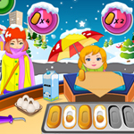 Free online flash games - Christmas Pancake Serving game - WowEscape
