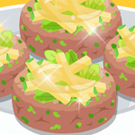 Free online flash games - Cooking Fish Salad game - WowEscape