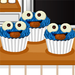 Free online flash games - Cookie Monster Cupcakes game - WowEscape