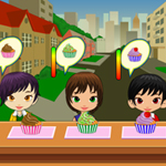 Free online flash games - Cupcake Corner game - WowEscape