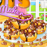Free online flash games - Cute Donuts Maker game - WowEscape