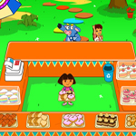 Free online flash games - Dora Cakeberry Shop game - WowEscape
