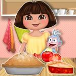 Free online flash games - Dora Tomato Pie game - WowEscape