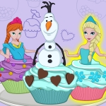 Free online flash games - Elsa Cupcakes game - WowEscape